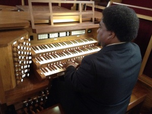 Composer Eric Taylor Young (BMI) plays the Allen Renaissance Digital Pipe Organ