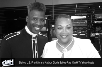 OWH tv hosts Bishop Franklin and Gloria Bailey-Ray